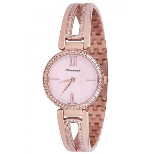 Часы Romanson RM7A02QLRG PINK